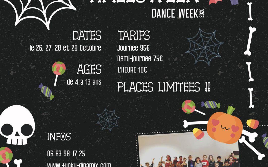 Halloween DanCe Week // Stage de Stage Hip hop // 6 h de danse par jours // a partir de 4ans //